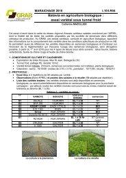 l10lr04_varietesbata.. - GRAB, Groupe de Recherche en Agriculture ...