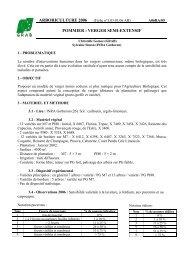 verger semi-extensif - GRAB, Groupe de Recherche en Agriculture ...