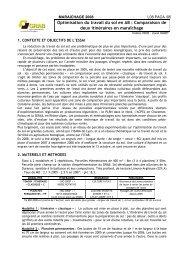 L08-PACA-05-travail - GRAB, Groupe de Recherche en Agriculture ...