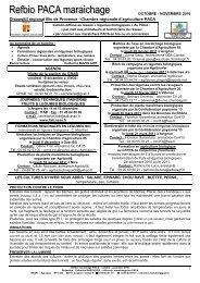 novembre 2010 - GRAB, Groupe de Recherche en Agriculture ...