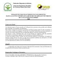 Fiche7Viti_2008_DLim.. - GRAB, Groupe de Recherche en ...