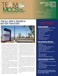 Team MCCS Sept-Oct 2011 - MCCS 29 Community Services