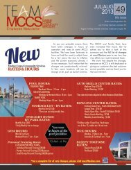 Get the July/August Employee Newsletter! - MCCS 29 Community ...