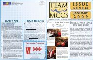 Jan 09 - to print.indd - MCCS 29 Community Services