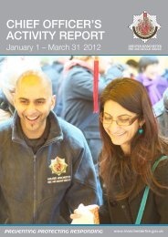 Activity Report A4 - Greater Manchester Fire and Rescue Service ...