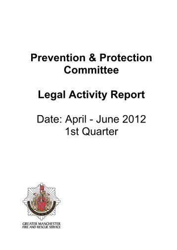 Appendix 1 , item 7. PDF 203 KB - Greater Manchester Fire and ...