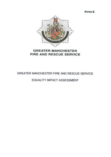 Annex E EIA , item 36. PDF 234 KB - Greater Manchester Fire and ...