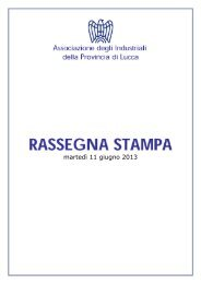 Rassegna Stampa 11 giugno 2013.pdf - Associazione degli ...