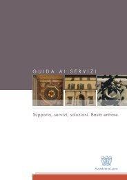 Scaricate la guida ai servizi dell'Associazione - Associazione degli ...