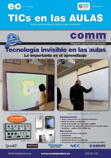 TICs en las AULAS - Editorial Cypsela