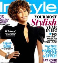 InStyle, January 2010 - My Next Act