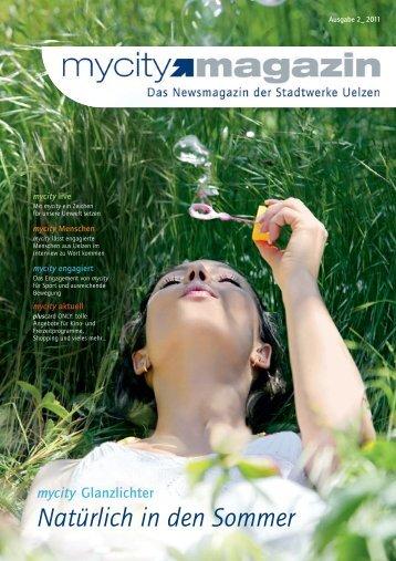 mycity magazin 2_2011 - Stadtwerke Uelzen GmbH