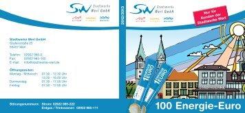 Energie-Euro-Heft - Stadtwerke Werl GmbH