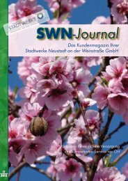 SWN Journal - Stadtwerke Neustadt