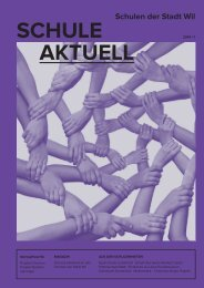 SCHULE AKTUELL - Stadt Wil