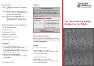 Der Deutsche Städtetag – die Stimme der Städte - Deutscher ...