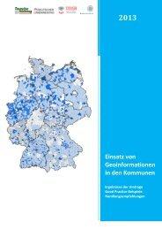 Geoinformationen in den Kommunen - Deutscher Städte- und ...