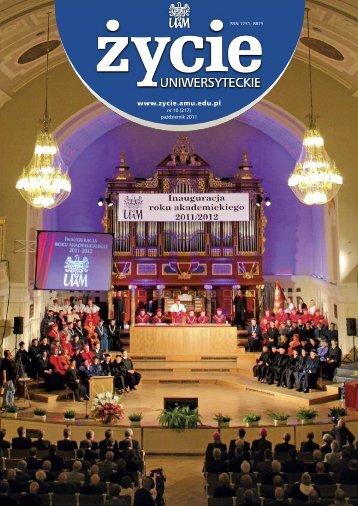 Nr 10 (217) Październik 2011 - Uniwersytet im. Adama Mickiewicza