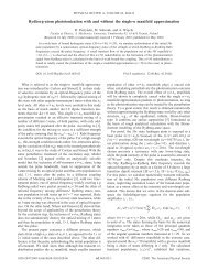 Rydberg-atom photoionization with and without the single-n ...