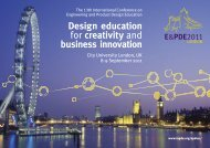 Design education for creativity and business innovation