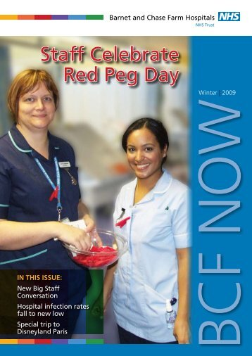 Barnet and Chase Farm Hospital Trust newsletter - Staff.city.ac.uk