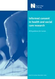 Informed consent - Health informatics It and research