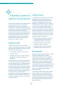 Informed consent - Health informatics It and research - Page 6