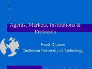 Agents and virtual markets