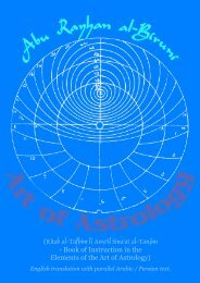 Instruction in the Elements of the Art of Astrology