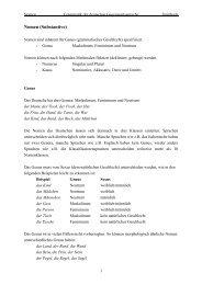 Nomen (Substantive) - Staff.uni-mainz.de