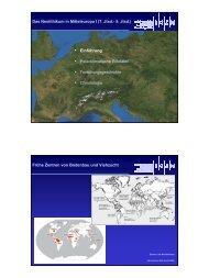 Das Neolithikum in Mitteleuropa I (7. Jtsd.- 5 ... - Staff.uni-mainz.de