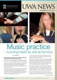 Issue 12. 24 August 2009.pdf - UWA Staff - The University of ...