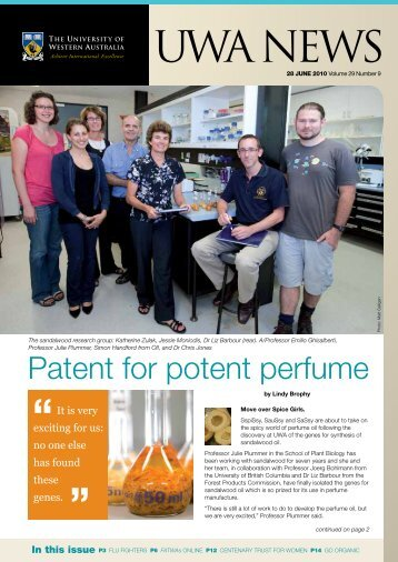 Issue 09. 28 June 2010.pdf - UWA Staff - The University of Western ...