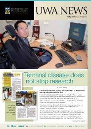 Issue 05. 3 May 2010.pdf - UWA Staff - The University of Western ...
