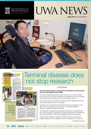 Issue 05. 3 May 2010.pdf - UWA Staff - The University of Western ...