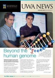 Issue 17. 2 November 2009.pdf - UWA Staff - The University of ...