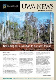 Issue 15. 4 October 2010.pdf - UWA Staff - The University of Western ...