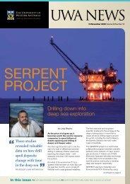 Issue 18. 16 November 2009.pdf - UWA Staff - The University of ...