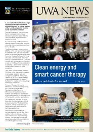 Issue 16. 18 October 2010.pdf - UWA Staff - The University of ...