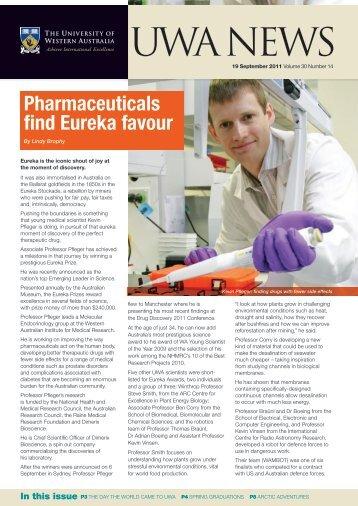 Issue 14. 19 September 2011 - UWA Staff - The University of ...
