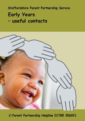 Early Years Useful Contacts.pdf - All Saints' Primary School
