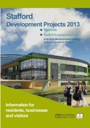 Stafford Regeneration Information Leaflet - Staffordshire County ...