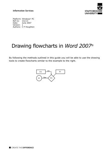 Word 2008 For Mac Flowcharts Learning Guide