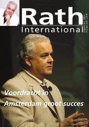 Voordracht - Dr. Rath Gezondheidsalliantie