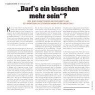 """""""Darf's ein bisschen mehr sein""""? - Staff Solutions"""