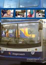 Annual Report 2006 - Stagecoach Group