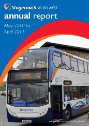 annual report - Stagecoach Group