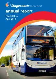 Annual performance report 2011 – 12 South West PDF - Stagecoach ...