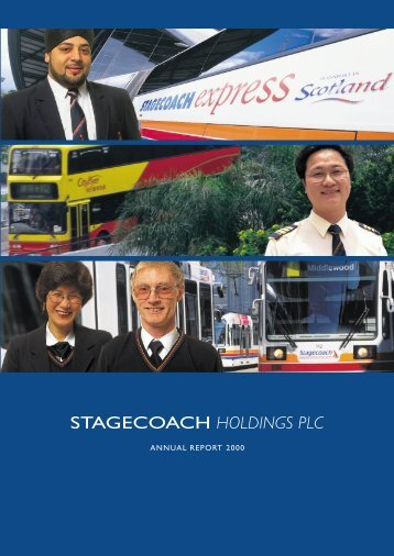 ANNUAL REPORT 2000 - Stagecoach Group