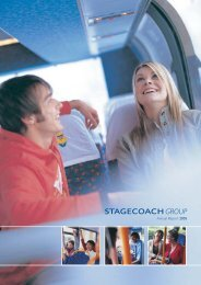 Annual Report 2005 - Stagecoach Group